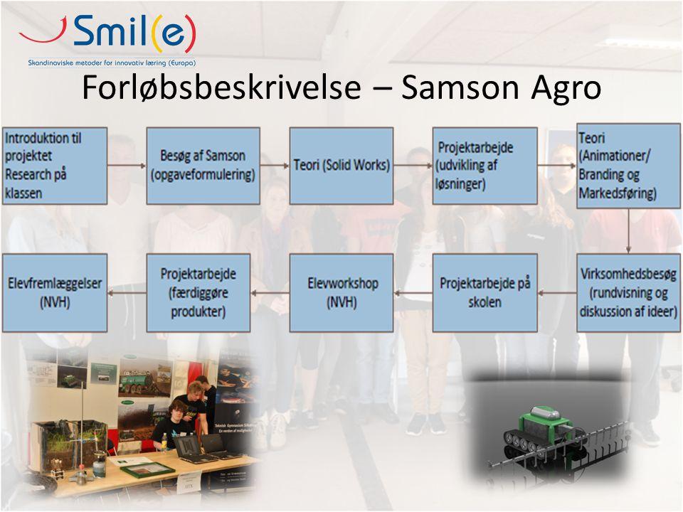 Forløbsbeskrivelse – Samson Agro