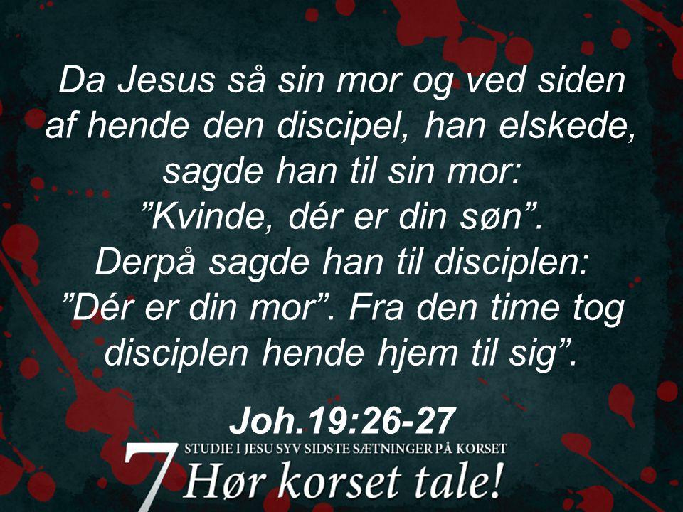Lad os mødes ved korsets fod som en ny familie ved blodets bånd