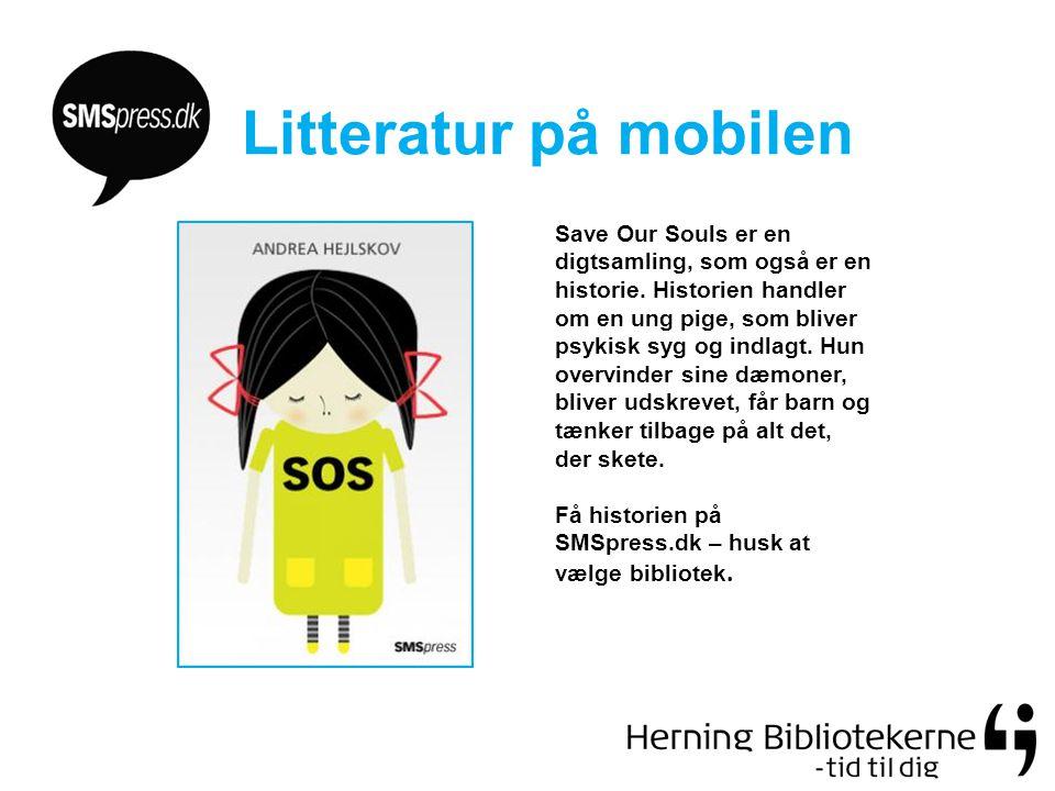 Litteratur på mobilen Save Our Souls er en digtsamling, som også er en historie.