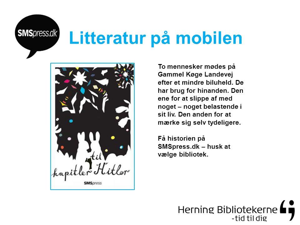 Litteratur på mobilen To mennesker mødes på Gammel Køge Landevej efter et mindre biluheld.