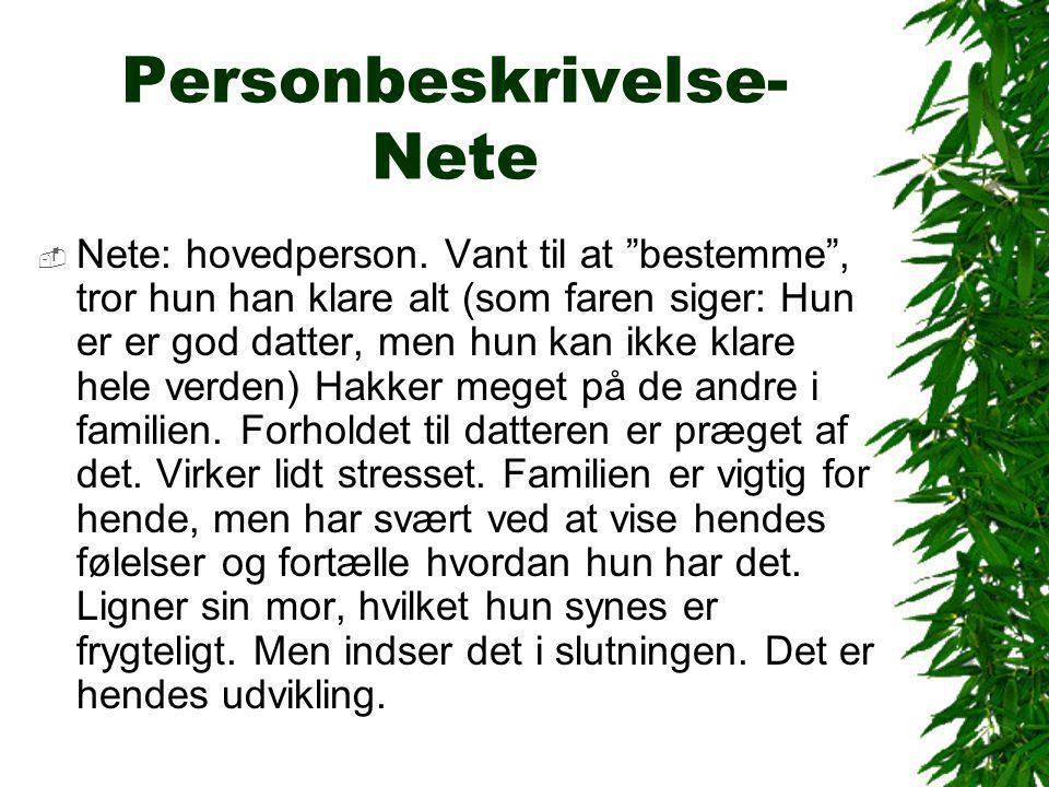 Personbeskrivelse - Kristian  Er lektor i litteratur på uni.
