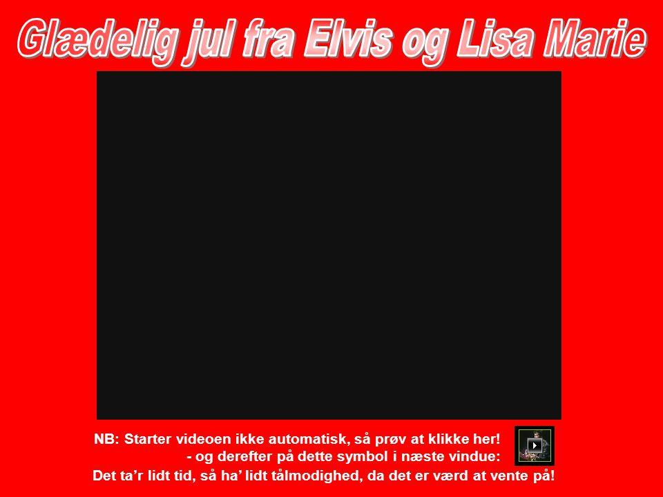 Elvis døde i 1977 - hans datter, Lisa Marie, blev født i 1966.