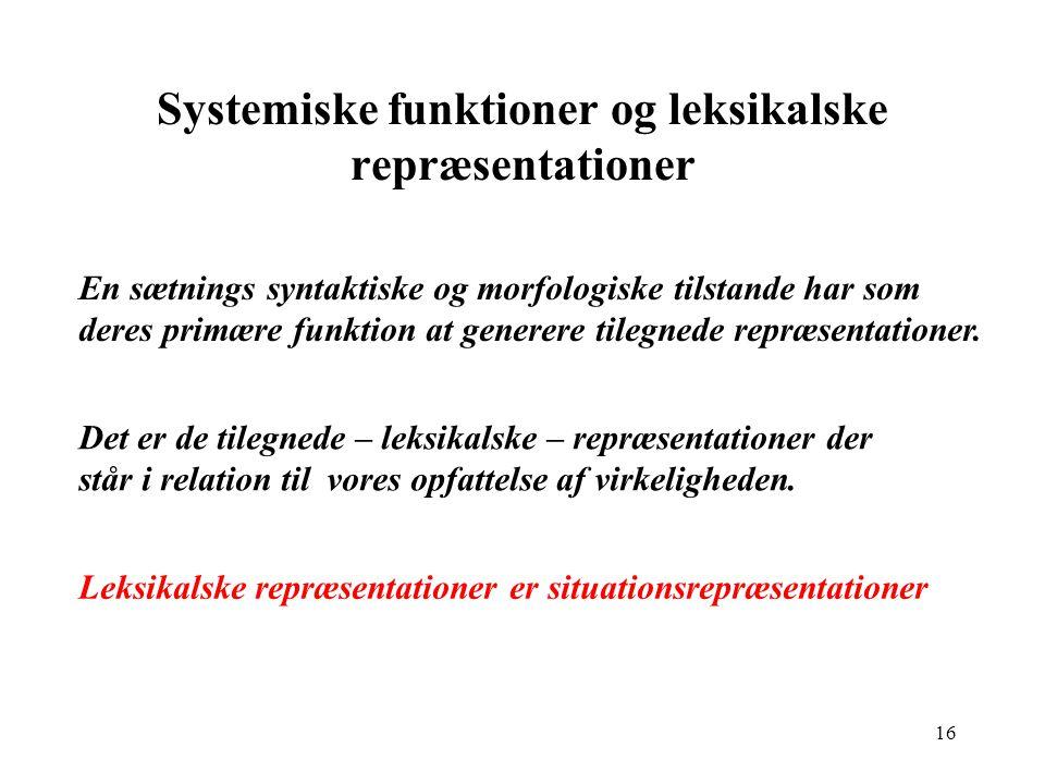 15 Systemisk vs.