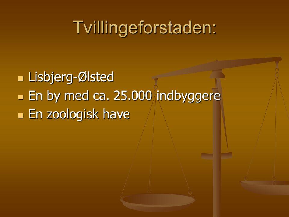 Tvillingeforstaden: Lisbjerg-Ølsted Lisbjerg-Ølsted En by med ca.