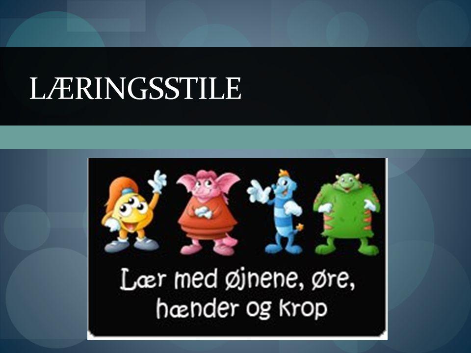 LÆRINGSSTILE
