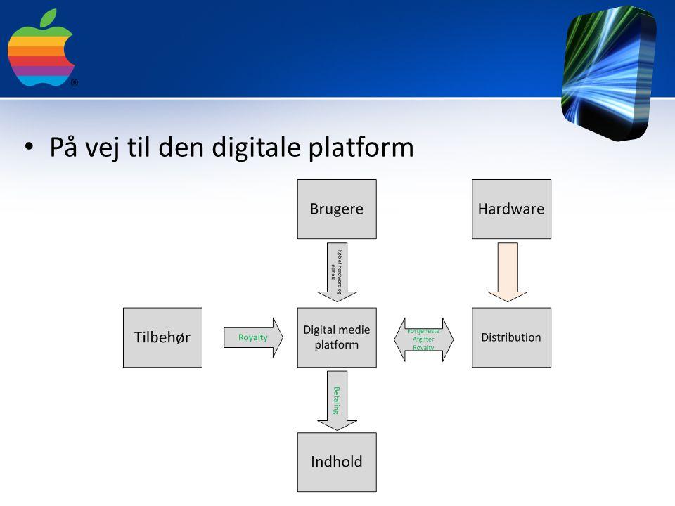På vej til den digitale platform