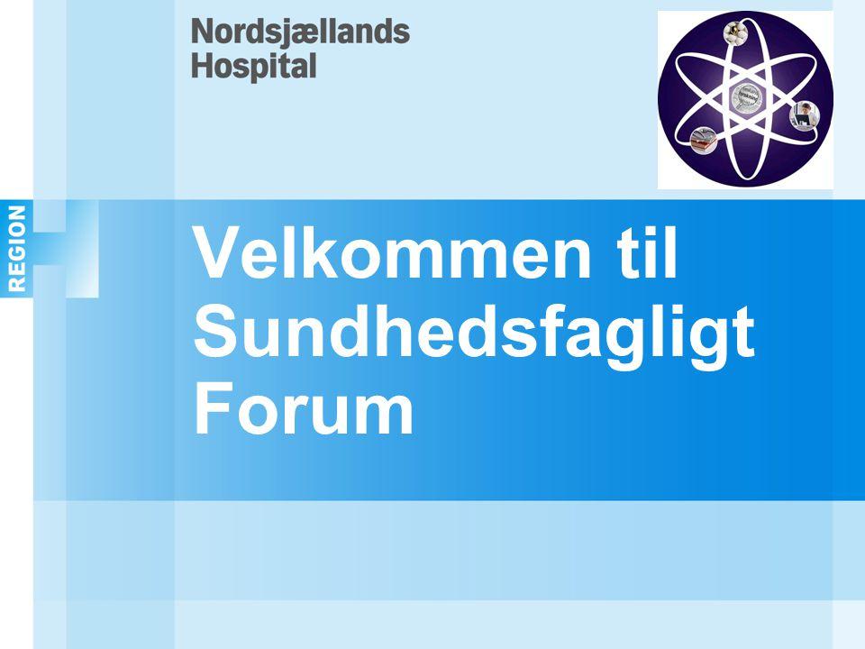 Velkommen til Sundhedsfagligt Forum