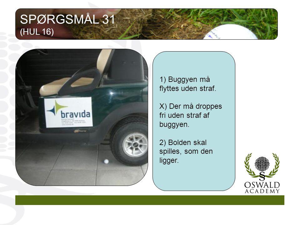 1) Buggyen må flyttes uden straf. X) Der må droppes fri uden straf af buggyen.