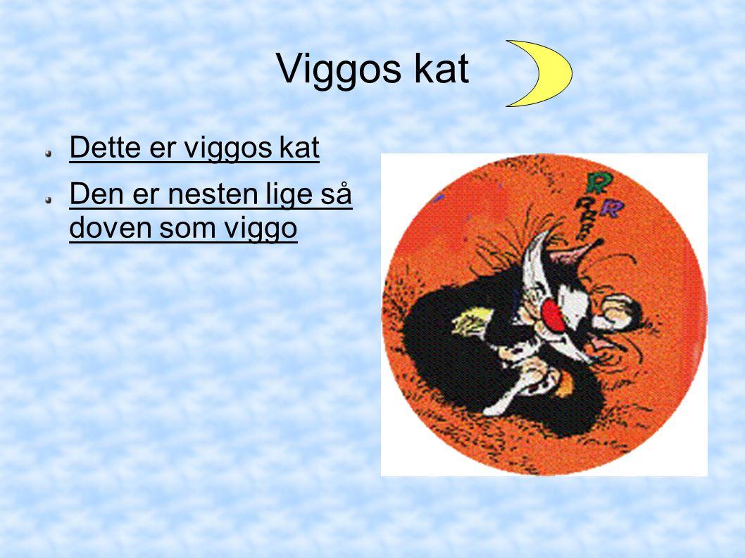 Viggos kat Dette er viggos kat Den er nesten lige så doven som viggo
