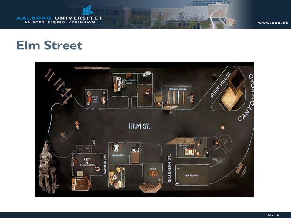 No. 16 Elm Street