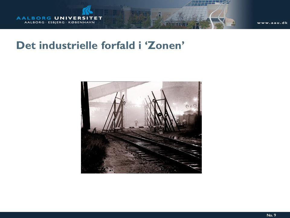 No. 9 Det industrielle forfald i 'Zonen'