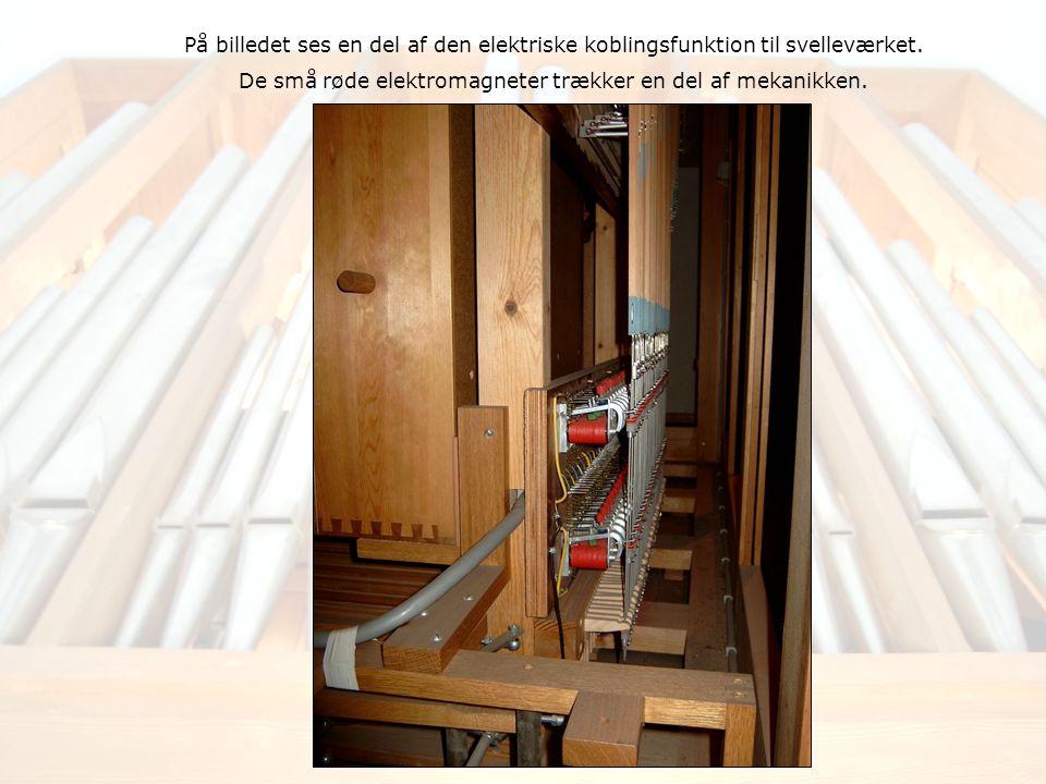 På billedet ses en del af den elektriske koblingsfunktion til svelleværket.