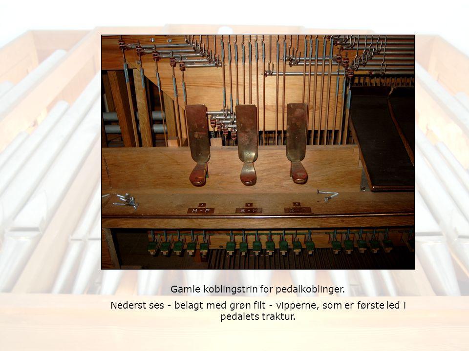Gamle koblingstrin for pedalkoblinger.
