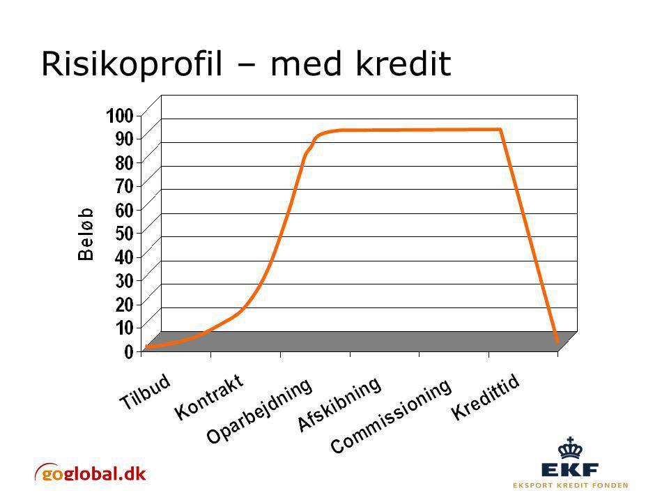 Risikoprofil – med kredit