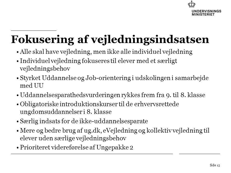 Tekstniveauer: 1.For at skifte mellem de forskellige tekstniveauer, brug Forøg list niveau - knappen i værktøjslinjen Formatering .