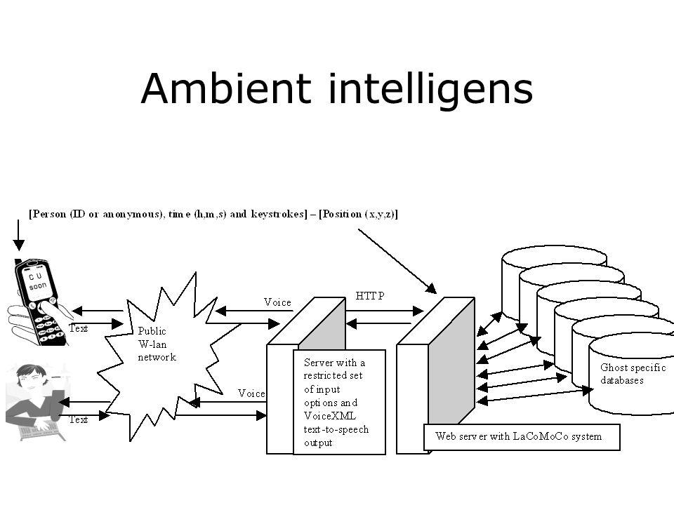 Ambient intelligens