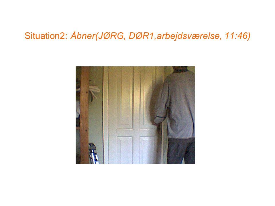 Situation2: Åbner(JØRG, DØR1,arbejdsværelse, 11:46)
