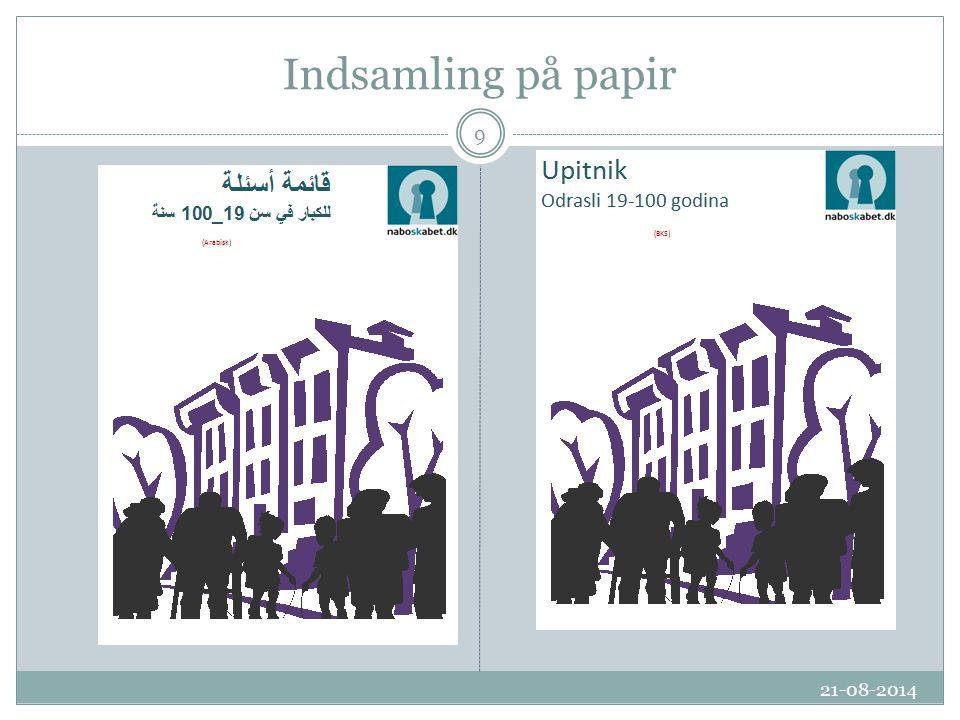 Indsamling på papir 21-08-2014 9