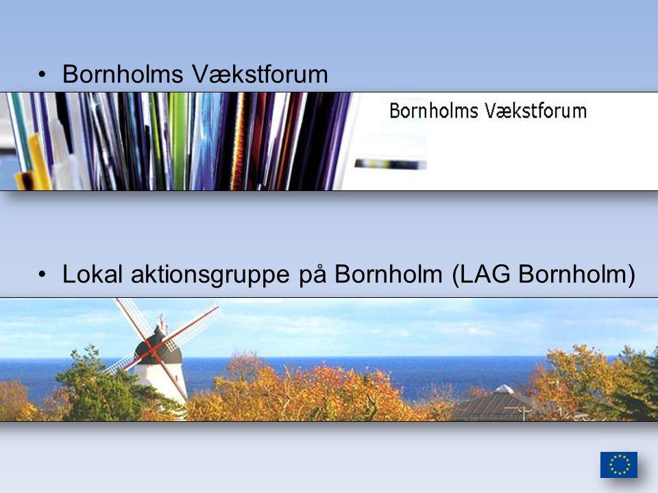 Bornholms Vækstforum Lokal aktionsgruppe på Bornholm (LAG Bornholm)