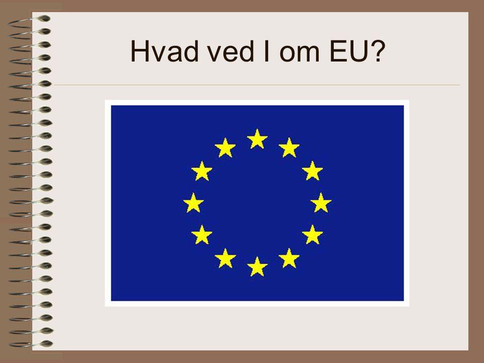 Hvad ved I om EU
