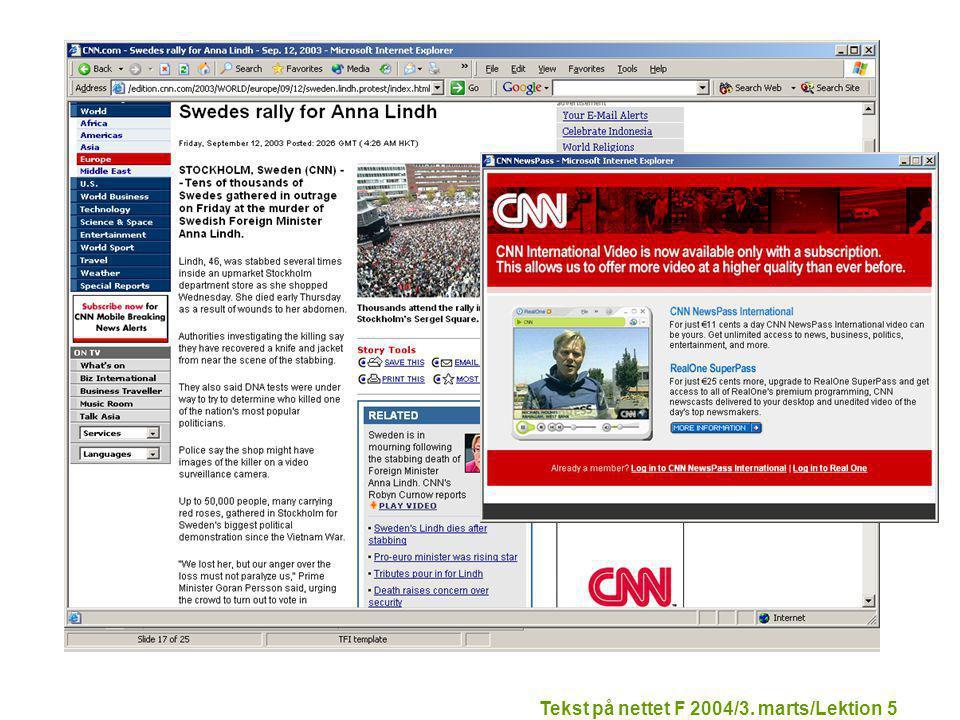 Tekst på nettet F 2004/3. marts/Lektion 5