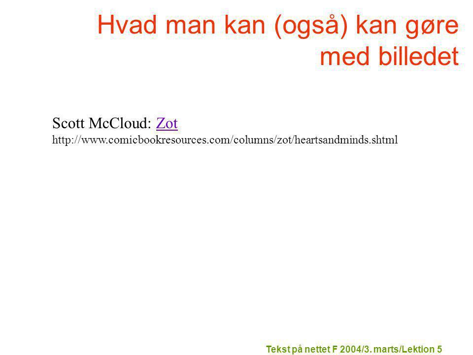 Tekst på nettet F 2004/3.