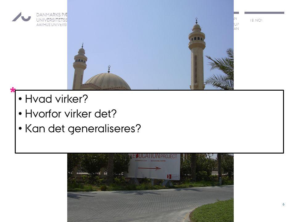 BØRNE- OG KULTURCHEFFORENINGEN LARS QVORTRUP DEKAN 18.