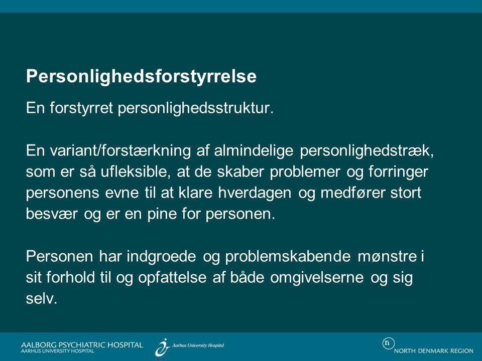 Borderline personlighedsforstyrrelse (instrumentalisering) 92.