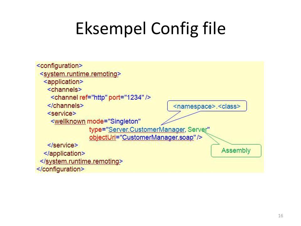 Eksempel Config file 16