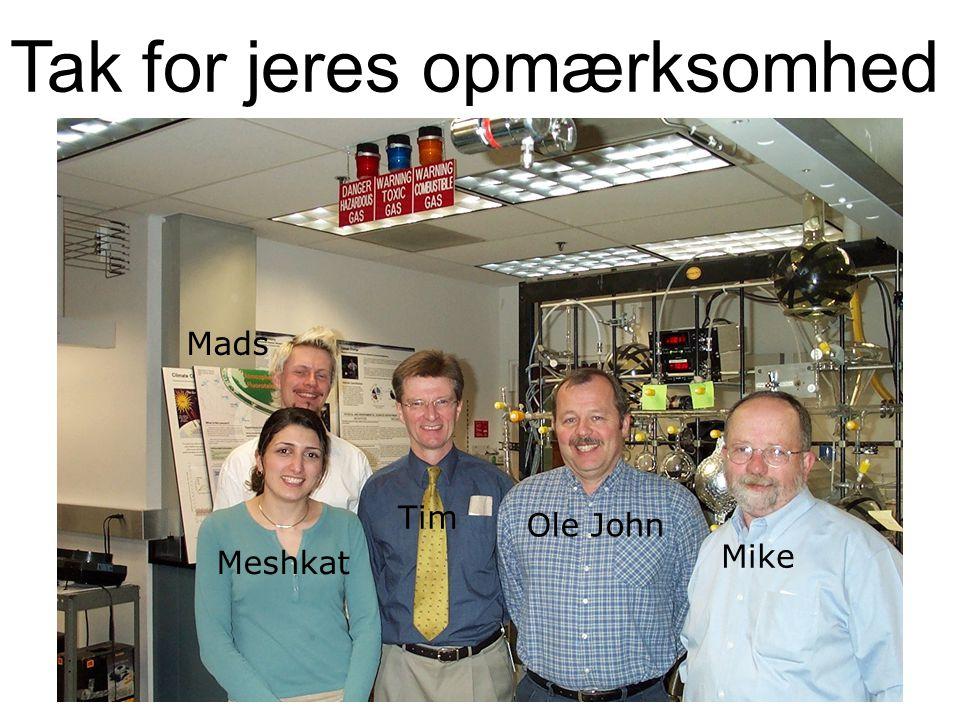 26 Mike Mads Meshkat Tim Ole John Tak for jeres opmærksomhed
