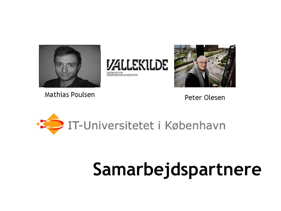 Samarbejdspartnere Mathias Poulsen Peter Olesen