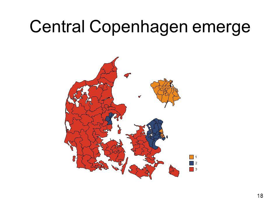 18 Central Copenhagen emerge