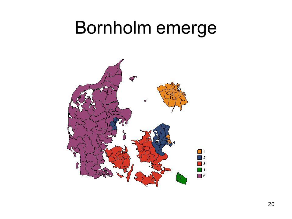 20 Bornholm emerge