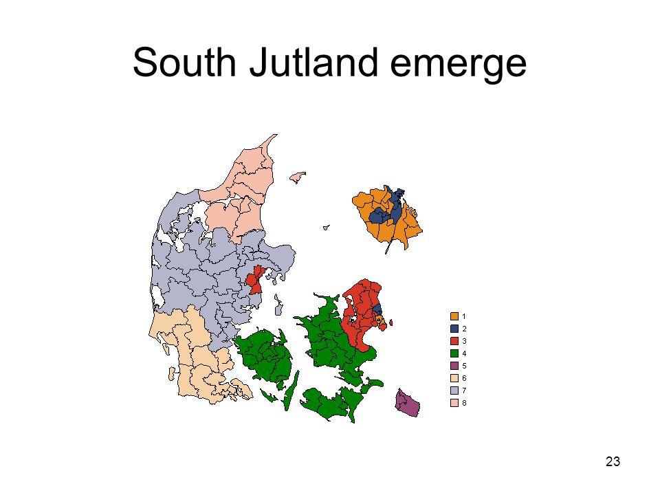 23 South Jutland emerge
