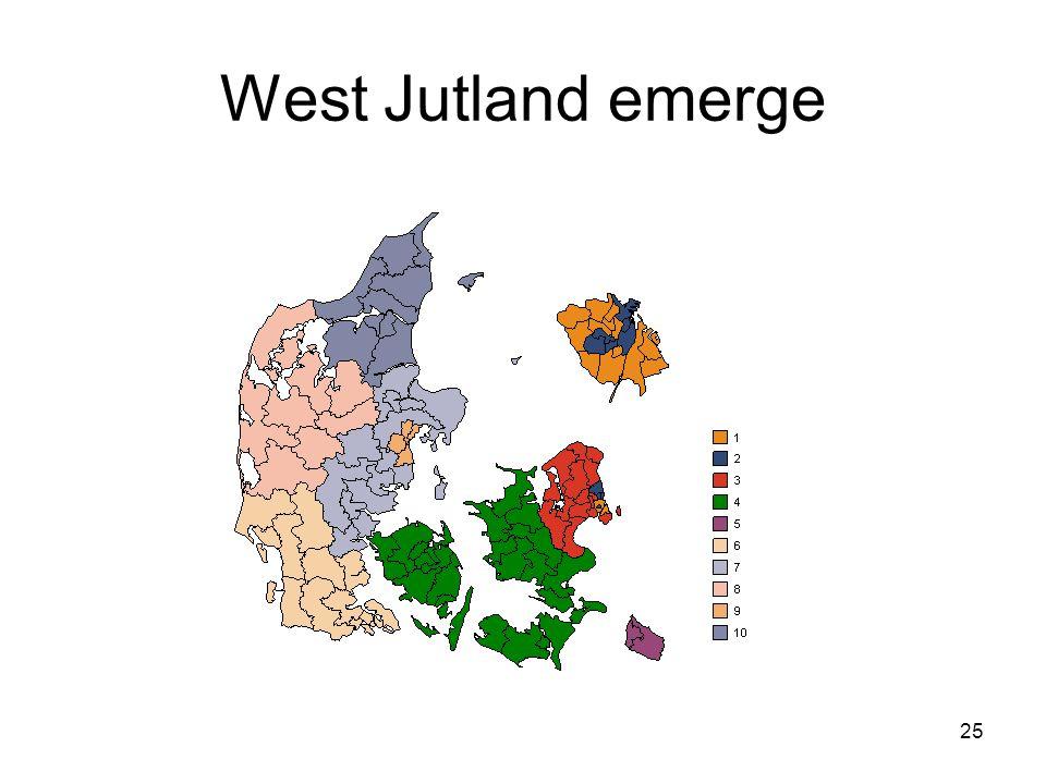 25 West Jutland emerge
