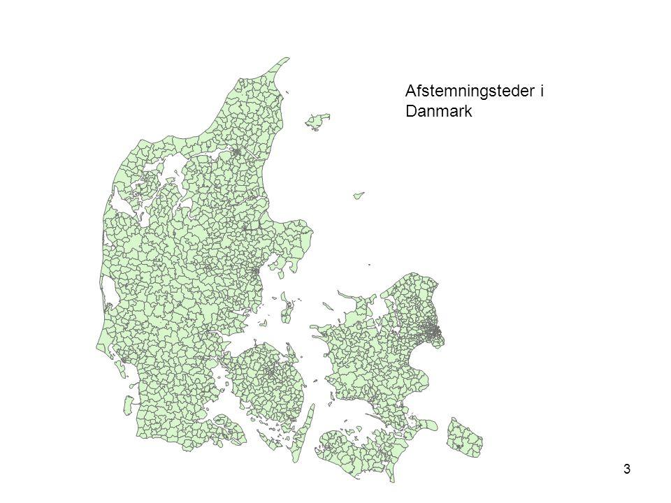 3 Afstemningsteder i Danmark