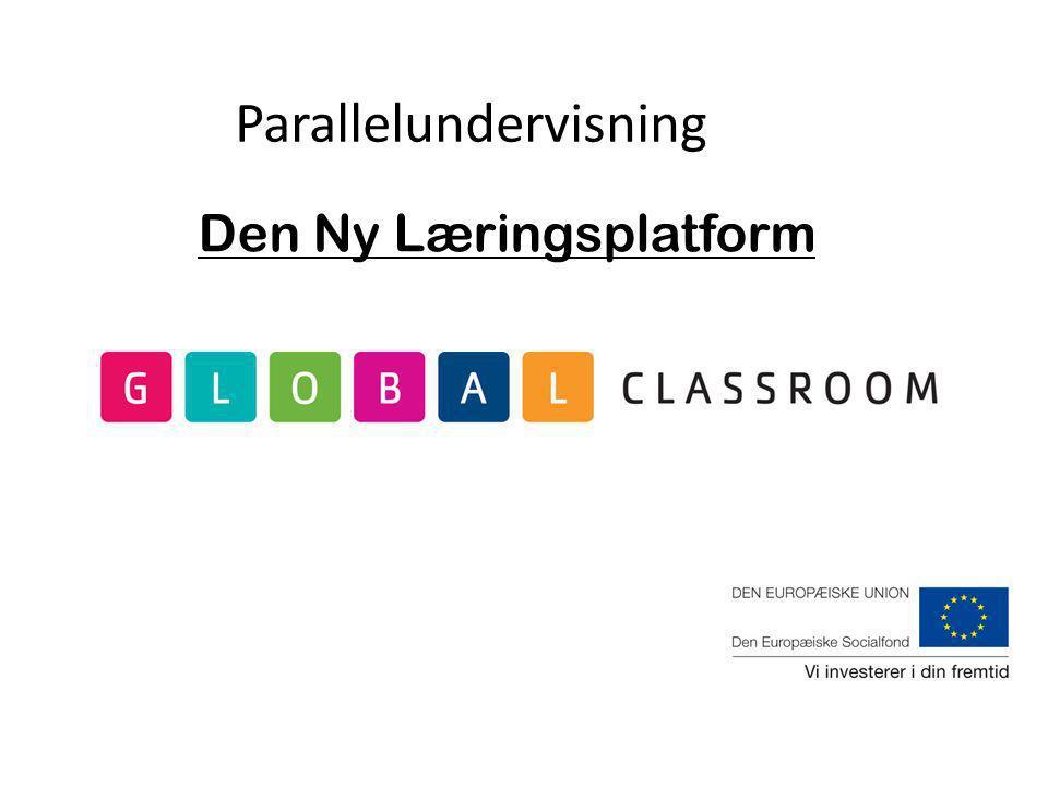 Den Ny Læringsplatform Parallelundervisning