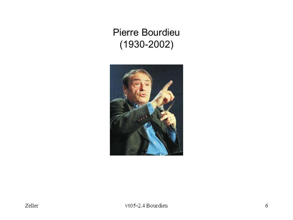 Zellervt05-2.4 Bourdieu6 Pierre Bourdieu (1930-2002)