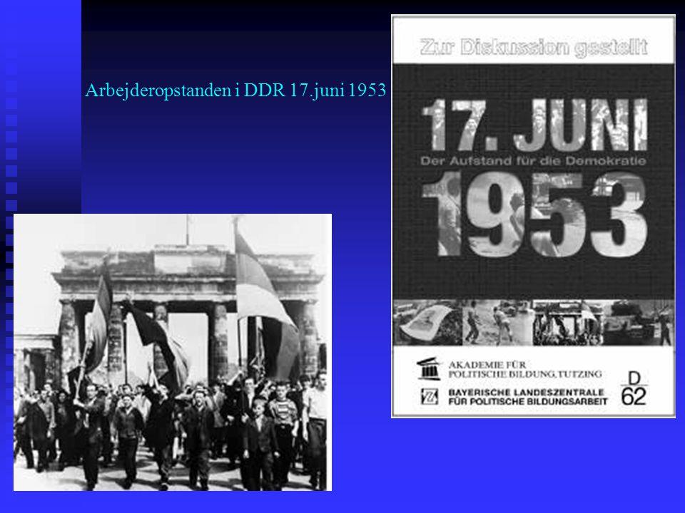 Arbejderopstanden i DDR 17.juni 1953