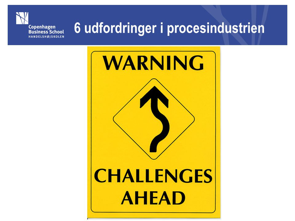 6 udfordringer i procesindustrien