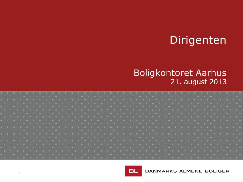 1 Dirigenten Boligkontoret Aarhus 21. august 2013