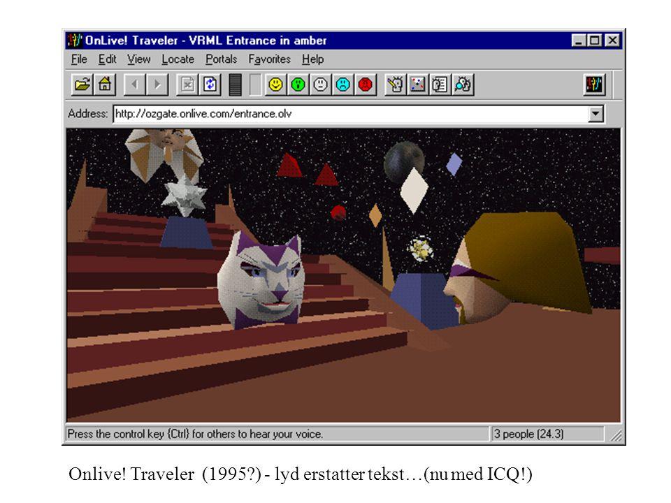 Onlive! Traveler (1995 ) - lyd erstatter tekst…(nu med ICQ!)