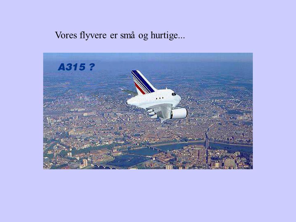 Er de stresset Har de flyskræk Så book den næste flyrejse hos os! Safety Airlines