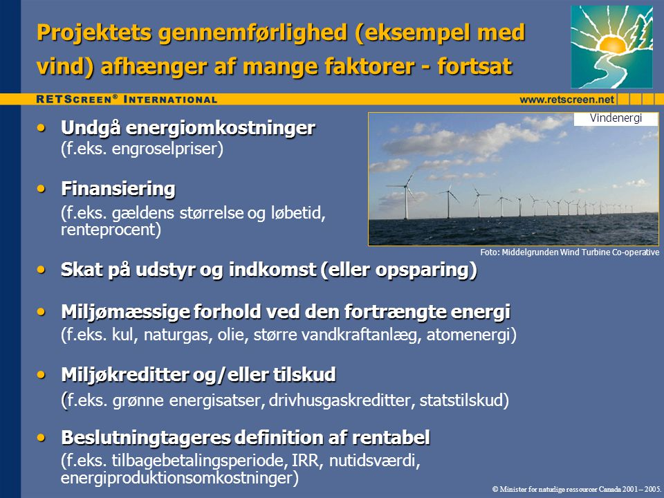 Undgå energiomkostninger Undgå energiomkostninger (f.eks.