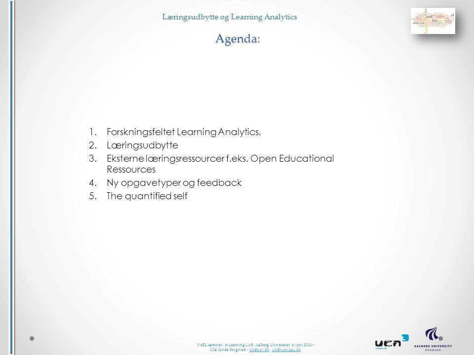 NoEL seminar, e-Learning LAB, Aalborg Universitet, 6.