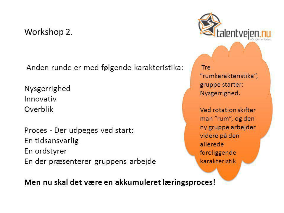 Workshop 2.