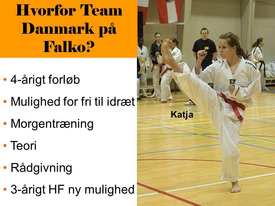 Hvorfor Team Danmark på Falko.