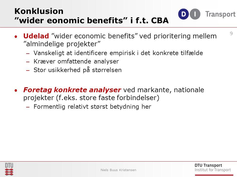 Konklusion wider eonomic benefits i f.t.