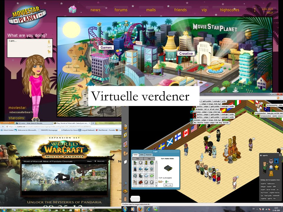 Virtuelle verdener