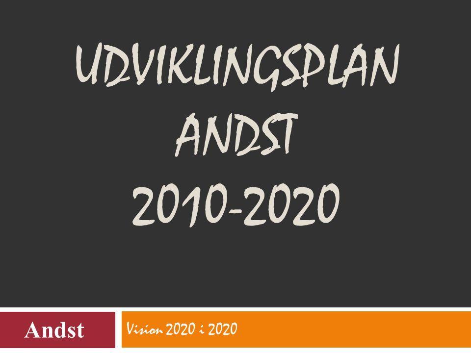 UDVIKLINGSPLAN ANDST 2010-2020 Vision 2020 i 2020 Andst